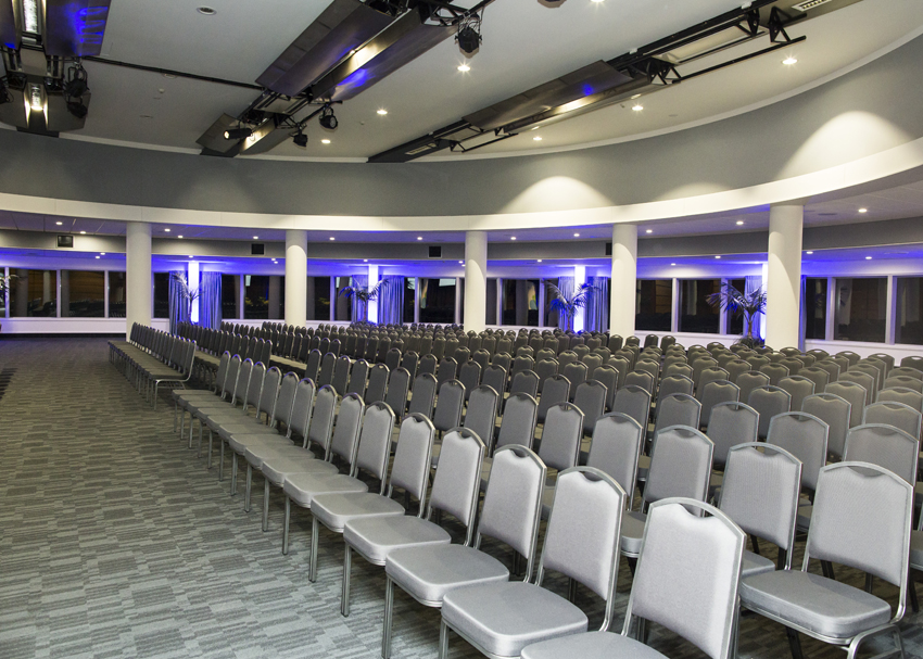 Theatre style event in Ballroom