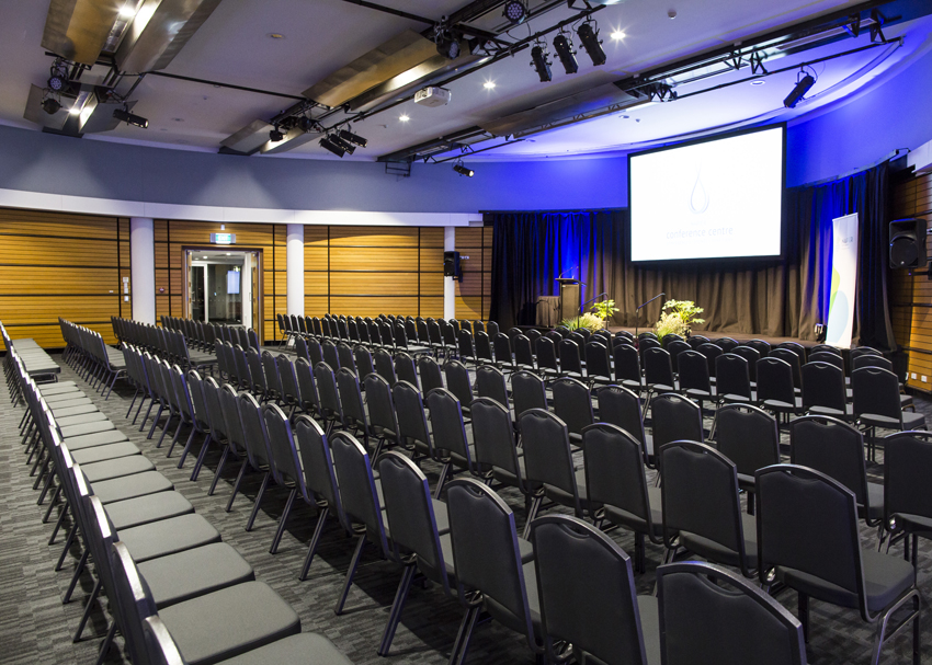 We have a number of rooms to suit any size meeting. The Ballroom can seat up to 350 guests in a Theatre Style seating arrangement.