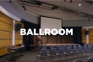 A virtual tour of the Ballroom at the Napier Conference Centre