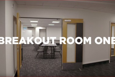 A virtual tour of Breakout Room One at the Napier Conference Centre