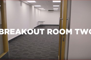 A virtual tour of Breakout Room Two at the Napier Conference Centre