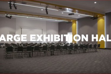 Virtual tour of the Large Exhibition Hall at the Napier Conference Centre