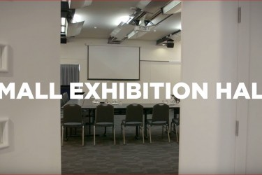 Virtual tour of Napier Conference Centre's Small Exhibition Hall.